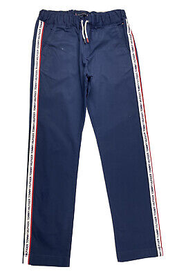 £25 • Buy TOMMY HILFIGER YOUTH/BOYS PULL-ON SIDE LOGO TAPE REGULAR FIT TROUSERS Age 12-13