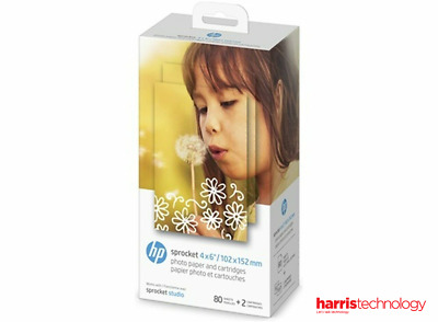 AU52.78 • Buy HP Sprocket 4 X 6  (102 X 152 Mm) Photo Paper And Cartridges