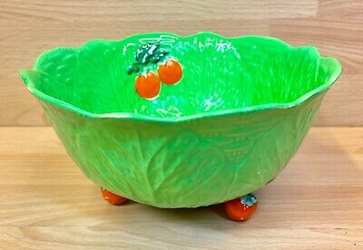 Beswick  Leaf & Tomato  Large Footed Bowl. • 24.95£