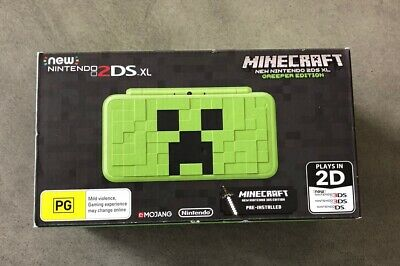 AU750 • Buy Nintendo New 2DS XL Minecraft Edition Console Rare Brand New PAL Discontinued
