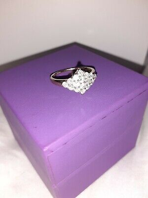 £325 • Buy 1 Ct Genuine Diamond 9 Ct Gold Ring With Authenticity Certificate