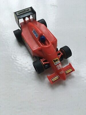 Micro Scalextric Ferrari F1 #28 Vgc Track Tested Ready To Run Rear Wing Glued • 9.99£
