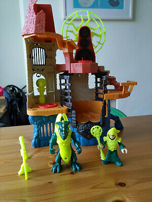 Fisher Price Imaginext Castle Wizard Tower Playset With Sound & Light • 15.99£