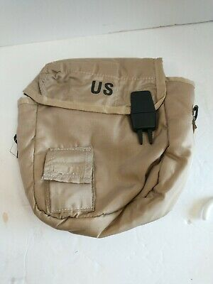 $ CDN19.20 • Buy 2 QT Collapsible Desert Tan Canteen Cover Pouch W Sling US Army Military