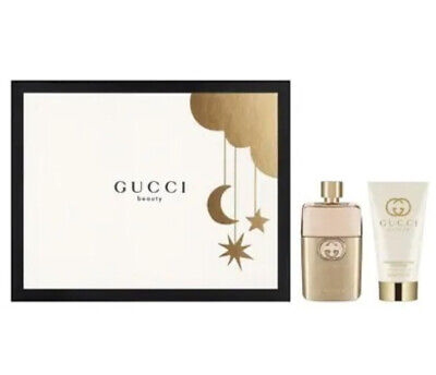 £75 • Buy GUCCI Guilty Gift Set For Her Parfum Spray (50ml) & Body Lotion (50ml)