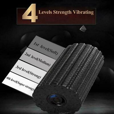 £32.20 • Buy 4 LEVEL Vibrating Foam Roller Muscle Recovery Massage Deep Tissue  Pain