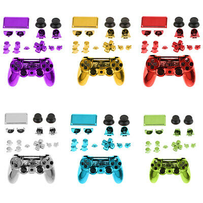 AU18.20 • Buy Full Shell Set For Sony PS4 Pro Controller Case Housing Button Replacement