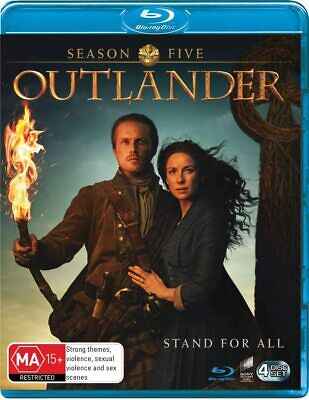 AU6.50 • Buy Outlander: Season Five (Blu-ray, 2020, 4-Disc Set)