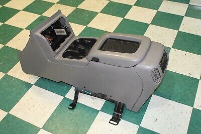 $369.99 • Buy 03-07 SILVERADO Gray Pewter Floor Center Console Armrest Cupholder Bose Sub