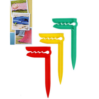 Beach Towel Clip Camping Mat Clip Outdoor Clothes Pegs Sheet Holder Towe Q9Q • 4.21£