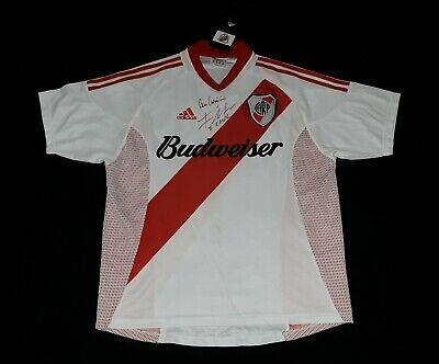 AU260.94 • Buy 2002 RIVER PLATE ADIDAS SIGNED ARGENTINA JERSEY FALCAO Cavenaghi MESSI S M L XL
