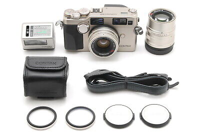 $ CDN2531.39 • Buy 【TOP MINT】Contax G2 Rangefinder Film Camera 35mm F/2 90mm F/2.8 Lens From JAPAN