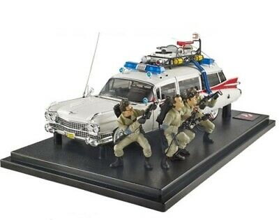 Ghostbusters Ecto-1 Car Hot Wheels 1:18 Elite 30th Anniversary Edition Figures • 415.89£