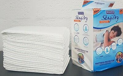 Incontinence Bed Pads Disposble Waterproof Mattress Protector Cover Sheet Topper • 7.99£