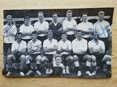 £13.95 • Buy Fulham 1964 Legends Magazine Team Group Hand-signed By 5 Including Rodney Marsh