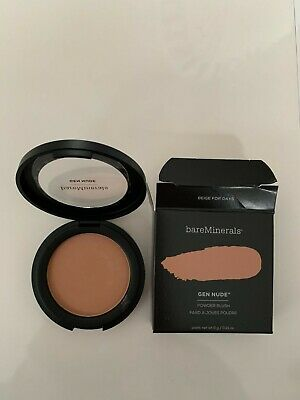 BareMinerals- GEN NUDE- POWDER BLUSH- BEIGE FOR DAYS- 6G • 13£