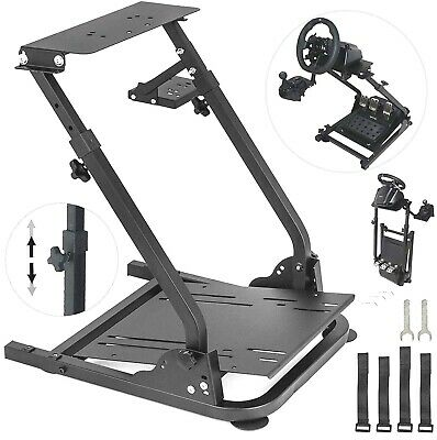 Racing Simulator Steering Wheel Stand Wheel Stand Fit For Logitech G27/G25/G29 • 91.06£
