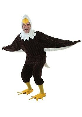 £34 • Buy Adult American Bald Eagle Bird Costume SIZE XL (with Defect)