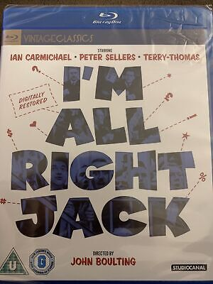 I'm All Right Jack Blu-Ray (2015) Ian Carmichael, Boulting (DIR) NEW & SEALED • 9.99£