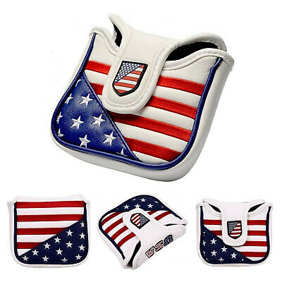 £8.82 • Buy Square Mallet Putter Cover Golf Headcover For TaylorMade Spider Tour Magnet