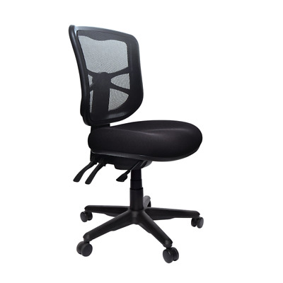 AU325 • Buy Buro Metro Ergonomic Chair Nylon Base Office Black Chair Mesh Back