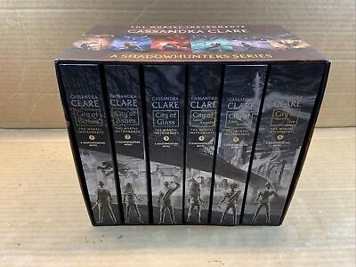Cassandra Clare The Mortal Instruments Complete 6 Book Set Paperback • 50.64£