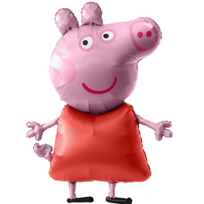 £2.99 • Buy Large 31  Peppa Pig George Balloon, Birthday Party Decoration Supplies