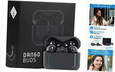 True Wireless Earbuds With Microphone – Noise Cancelling Earbuds And Black • 83.47£