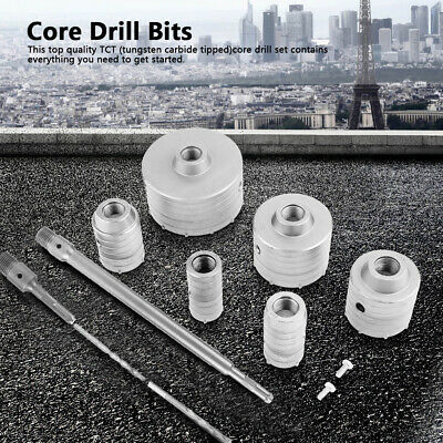 £32.25 • Buy 35-110mm Diamond Cutter Coated Core Hole Saw Set Holes Drill Bit Tile FOR Glass