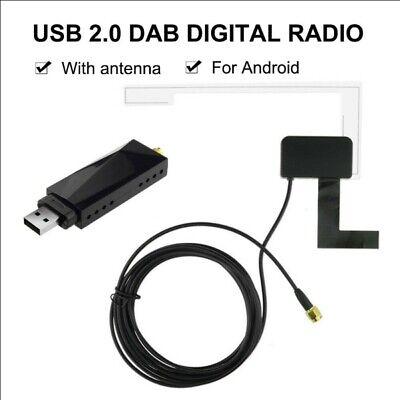 DAB Car Radio Tuner Receiver USB Stick DAB Box For Android Car DVD USB Dongle • 19.99£