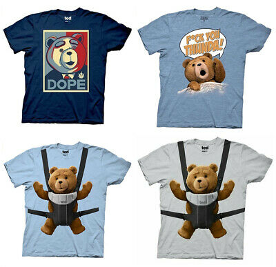 $12.99 • Buy Brand New 100% Authentic Adult Men's Ted Comedy Movie T Shirt Baby Carrier