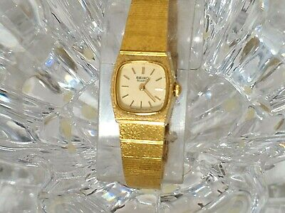 $ CDN44.40 • Buy Vintage Seiko Quartz Gold-Tone Womens Watch 5420-5409