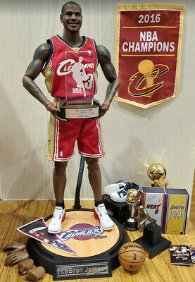 $410 • Buy Enterbay 1/6 Lebron James Cavaliers 2004 Rookie Of The Year