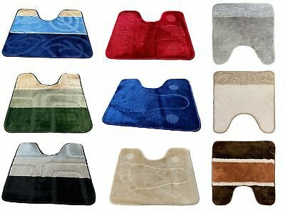 £3.50 • Buy Pedestal Mat For Toilet Or  Sink 1 Piece Assorted Colours Clearance Stock