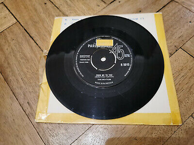 £9.99 • Buy The Beatles From Me To You 7  Vinyl Record Good Condition