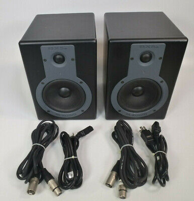 $224.99 • Buy Lot 2x M-Audio Studiophile BX5a Studio Reference Monitor Speakers W/ XLR Cords