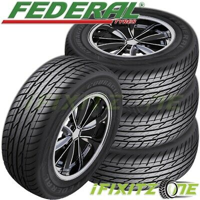 $490.39 • Buy 4 New Federal Couragia XUV P255/65R16 109H All Season SUV Touring Highway Tire