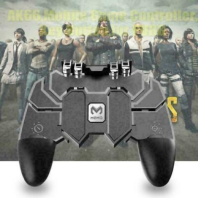 AK66 Six Finger Mobile Game Controller Fire Key Button For G2S7 Q7T7 E1V4 • 5.09£