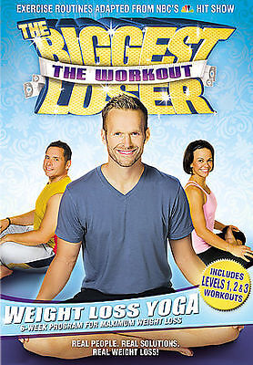 The Biggest Loser: The Workout - Weight Loss Yoga, Good DVD, Bob Harper, Cal Poz • 3.91£