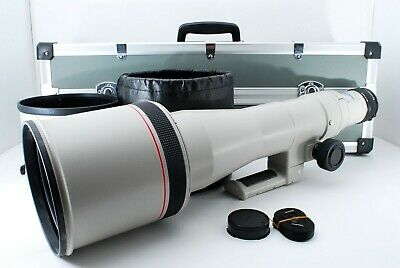 £1240.83 • Buy Canon New FD NFD 800mm F/5.6L ULTRA Telephoto Lens SET [Excellent++] From Japan