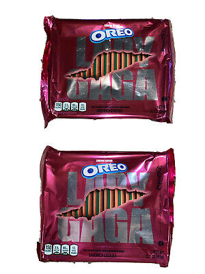 Limted Edition LADY GAGA Chromatica Oreo Cookies (2) Two 12 Oz Bags Hard To Find • 92.20£