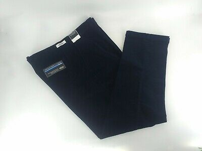 $43.95 • Buy Big&tall Roundtree&yorke Pleated Corduroy Pants Mens Size 46x29 Navy Color Nwt