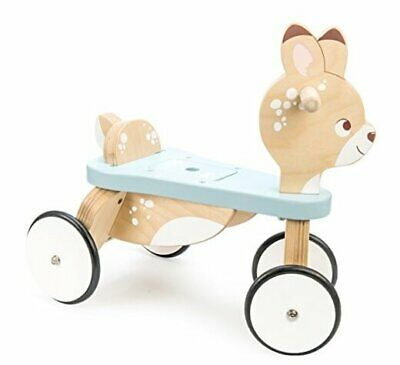 - Petilou Wooden Ride On Deer Push Along Toy For Toddlers | Ride On Deer • 130.68£