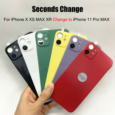 £3.11 • Buy PVC Rear Guard Back Film Sticker Fake Camera Lens Cover For IPhone XR X XS Max