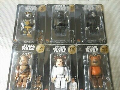 $85 • Buy Bearbrick Star Wars Medicom Toy Be@rbrick Star Wars Happy Kuji Japan Set Of 6