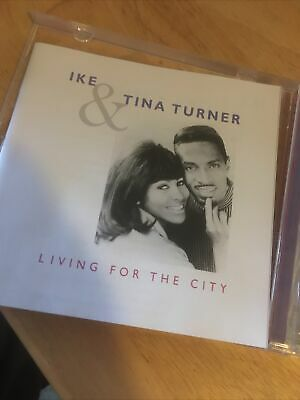 Ike And Tina Turner - 🌟🌟🌟🌟🌟Living For The City CD Album • 3.44£