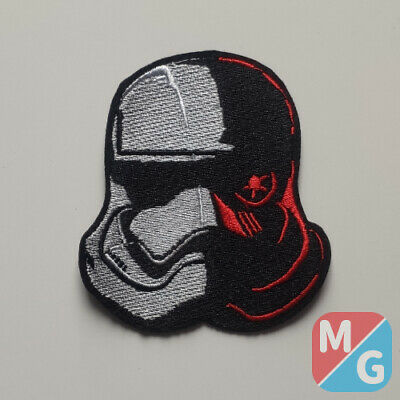 £3 • Buy Star Wars Storm Trooper Helmet Red Iron On/ Sew On Embroidered Patch