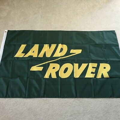 Land Rover Classic Defender Series 1 2 3  Discovery Workshop Flag Banner • 22£
