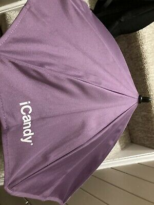 Icandy Peach Purple/grape Parasol Umbrella • 10£