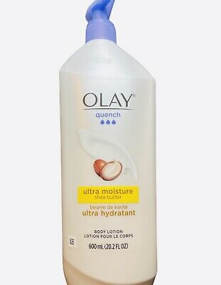 AU22.51 • Buy Olay Quench Body Lotion Ultra Moisture W/ Shea Butter & Vitamin E 20oz